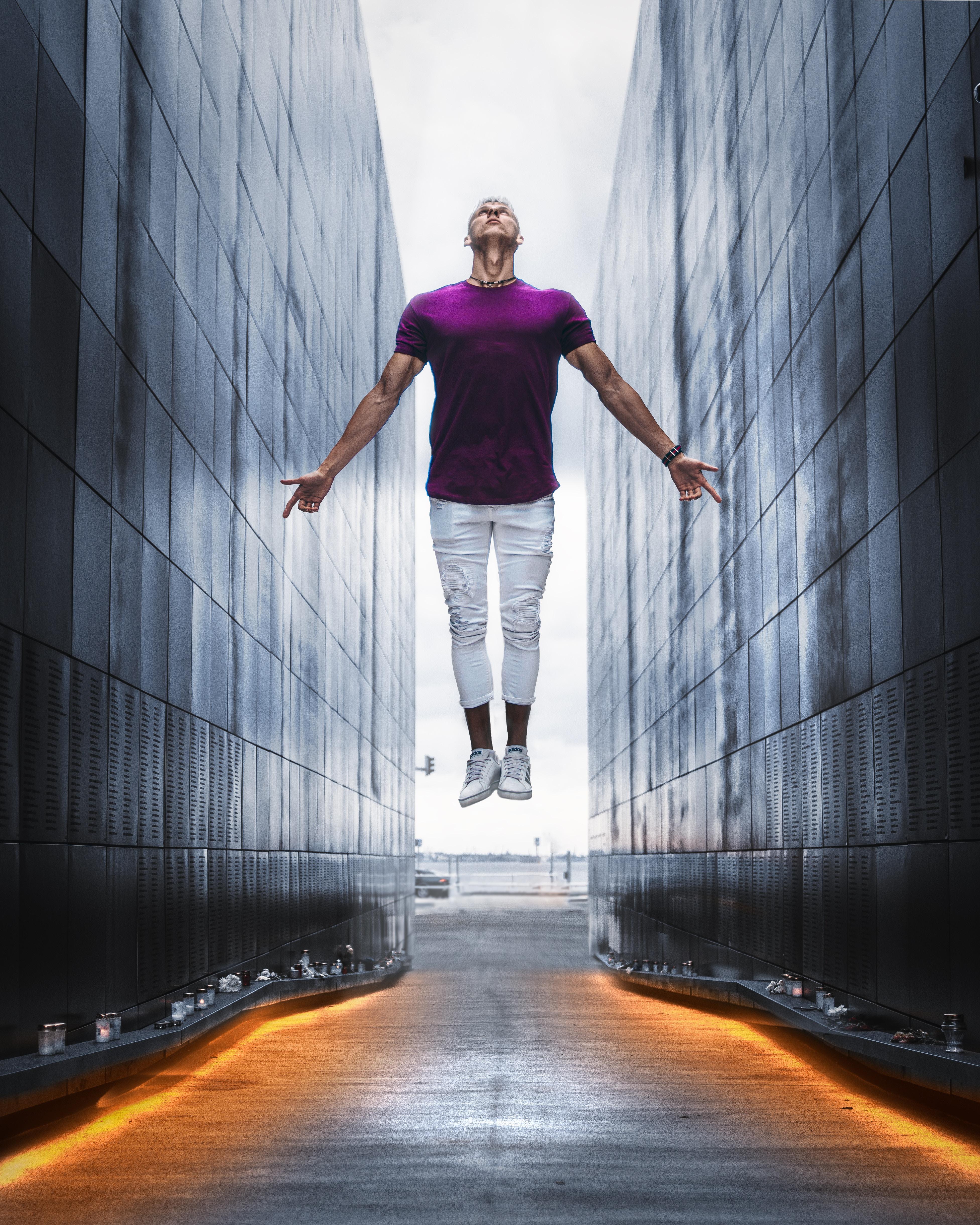saut à genoux et extension de hanche