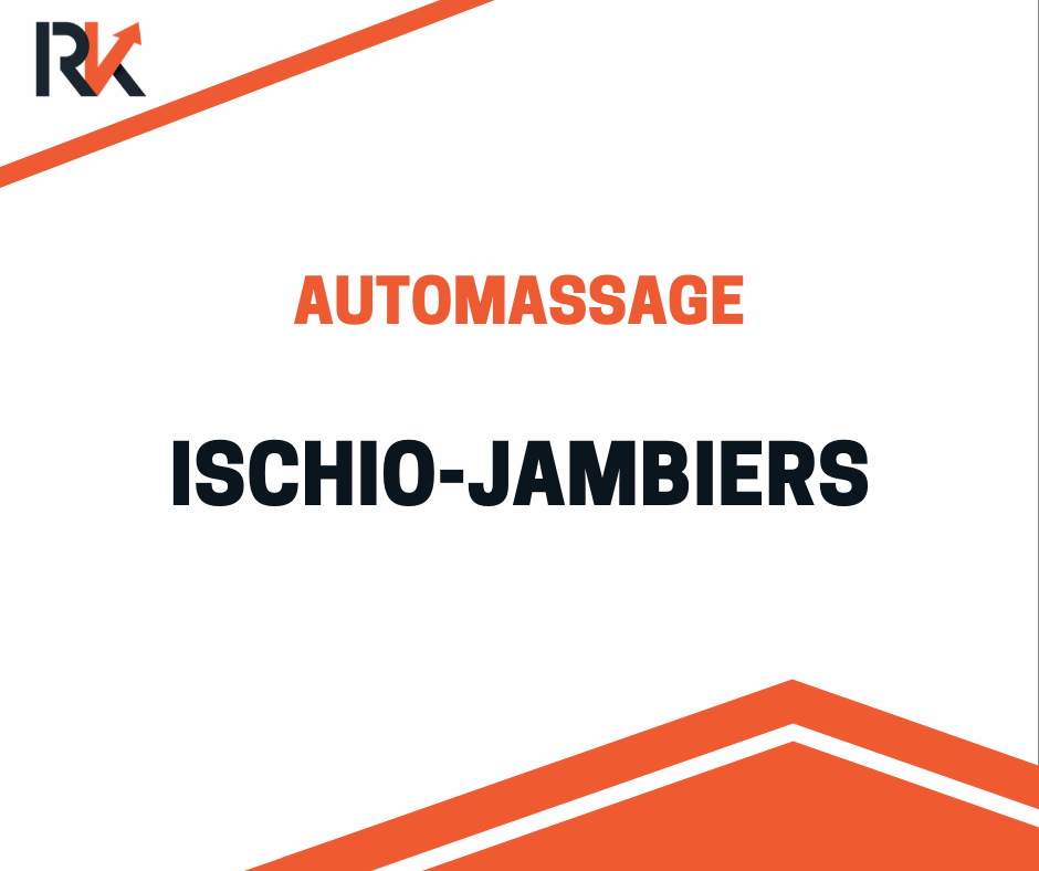 Automassage ischio-jambiers