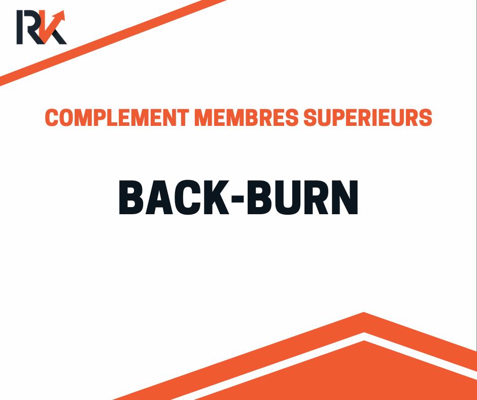 swimmer ou back burn, musculation épaules poids de corps