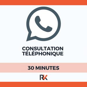 consultation telephonique avec romain katchavenda 30 minutes