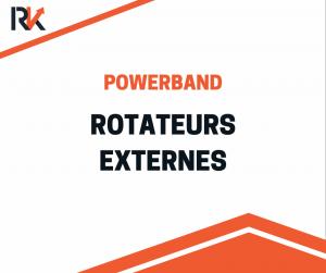 Renforcement rotateurs externes avec powerband