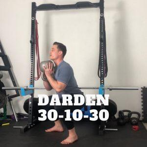 Méthode musculation darden 30-10-30